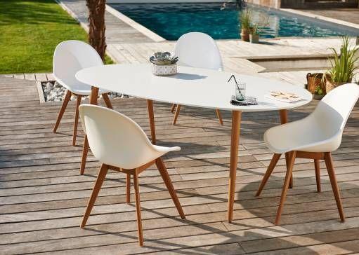 17 meilleures id es propos de table ovale sur pinterest. Black Bedroom Furniture Sets. Home Design Ideas
