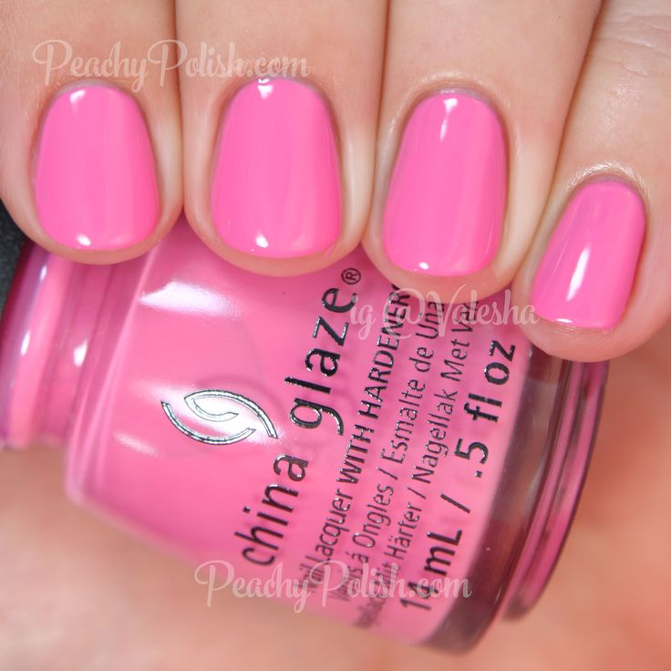 China Glaze Don't Mesa With My Heart | Summer 2015 Desert Escape Collection | Peachy Polish - I love pinks like this!