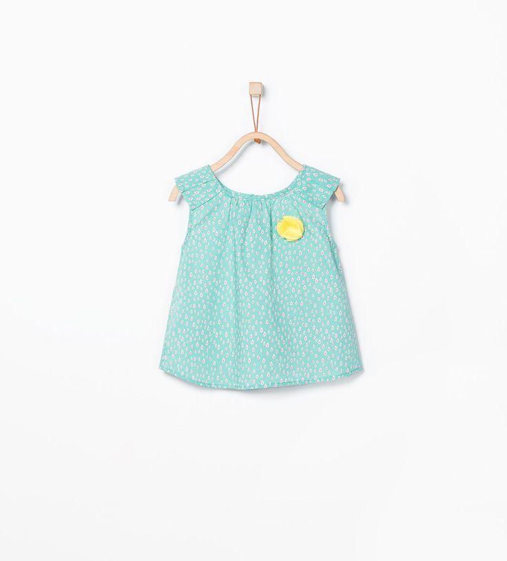 ZARA - ENFANTS - Top plissé