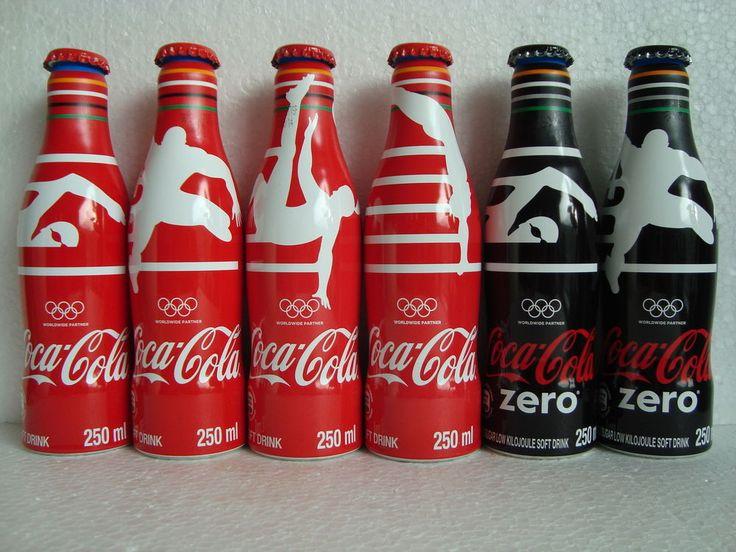 "Rare Coca Cola ""OLYMPIC RIO - BRAZIL 2016"" Alu Bottle Set SOUTH AFRICA 2016   Collectibles, Advertising, Soda   eBay!"