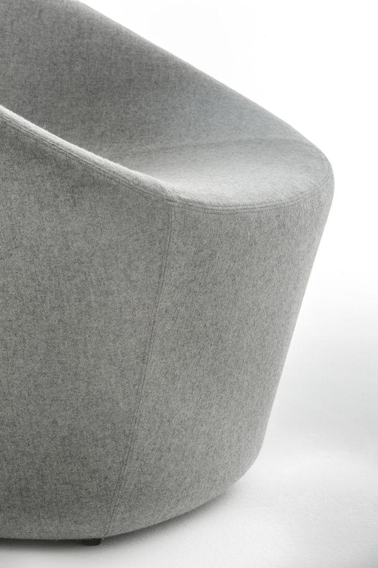 Log Lounge, Upholstered Seating Pedrali #design #lounge #armchair