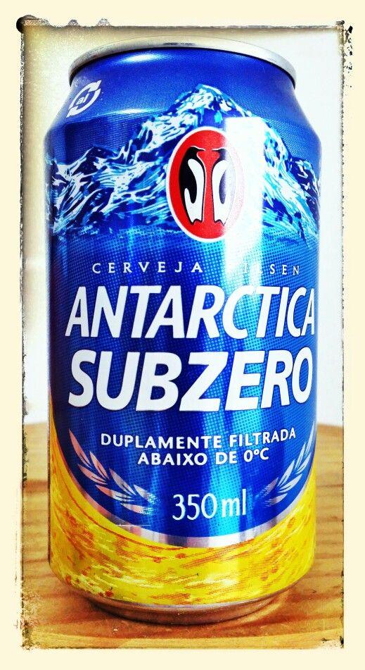 Antarctica Sub Zero 350ml Em 2019 Cerveja Latas E Bolo