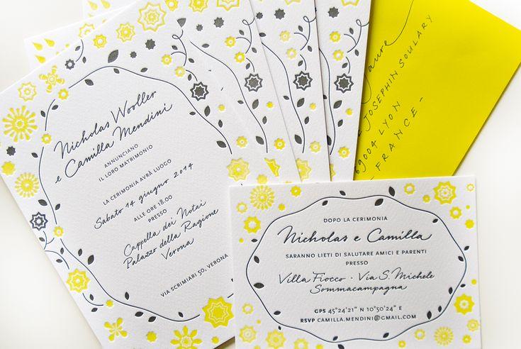 Stamperia del Ghiro per Yvat&Klerb   NC Wedding http://www.y-k.it