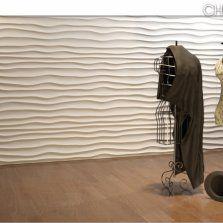 CHOPPY gipsowy panel dekoracyjny 3D DekoStyl http://dekostyl.com.pl/Choppy-panele-3d-dunes-panele-dekoracyjne-z-gipsu-panel-3d