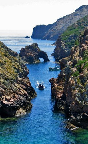 Elephant rock , Berlengas, Portugal