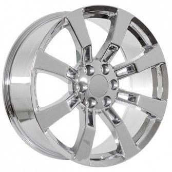 20 inch chrome Chevy wheels will fit-----> Chevy Silverado (1999-present)   Chevy Suburban (2000-present)   Chevy Tahoe (1995-present)   Chevy Avalanche (2001-present)   Chevrolet Colorado (2004-Present)