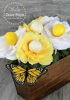 10 Flower Cake Pop Ideas | Kandy Kreations
