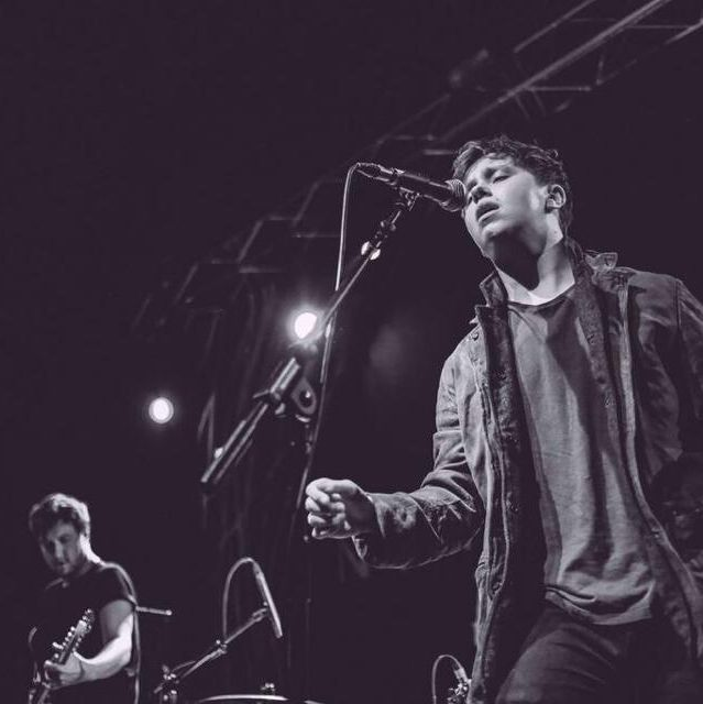 Conor Mason of Nothing But Thieves...rocking the Dean Winchester look!
