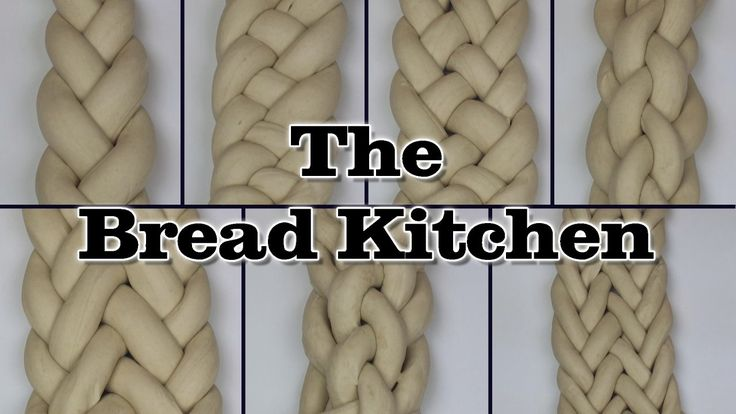 This easy-to-follow video explains how to braid bread dough from 3 strands…