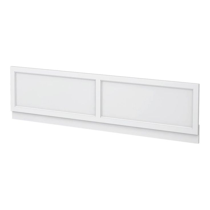SHOP the Chatsworth White 1800 Traditional Front Bath Panel at Victorian Plumbing UK