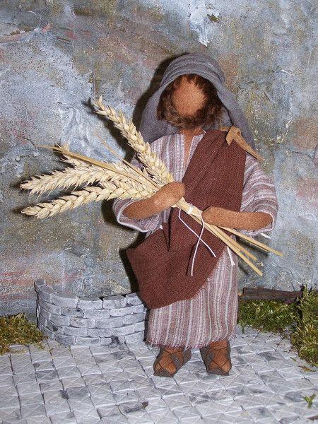 """Weiteres - Biblische Erzählfigur """"Der Sämann """" - ein Designerstück von gabis-figurenwerkstatt bei DaWanda"""
