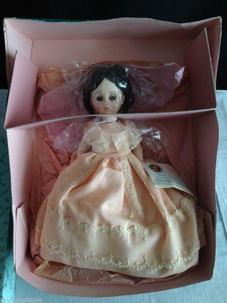 "VINTAGE 1970'S Madame Alexander Doll SARAH JACKSON  14"" first ladies series NICE #Dolls"