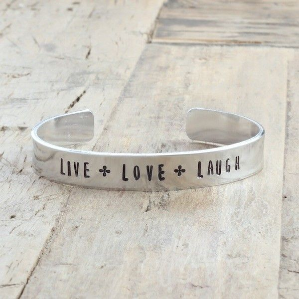 Live love laugh bracelet (various colours)