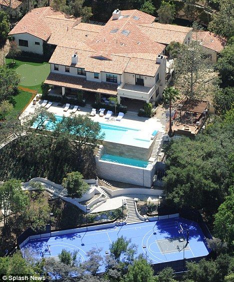 Justin Timberlake's LA home
