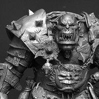 a dwarf dude, made for WARHAMMER Total War