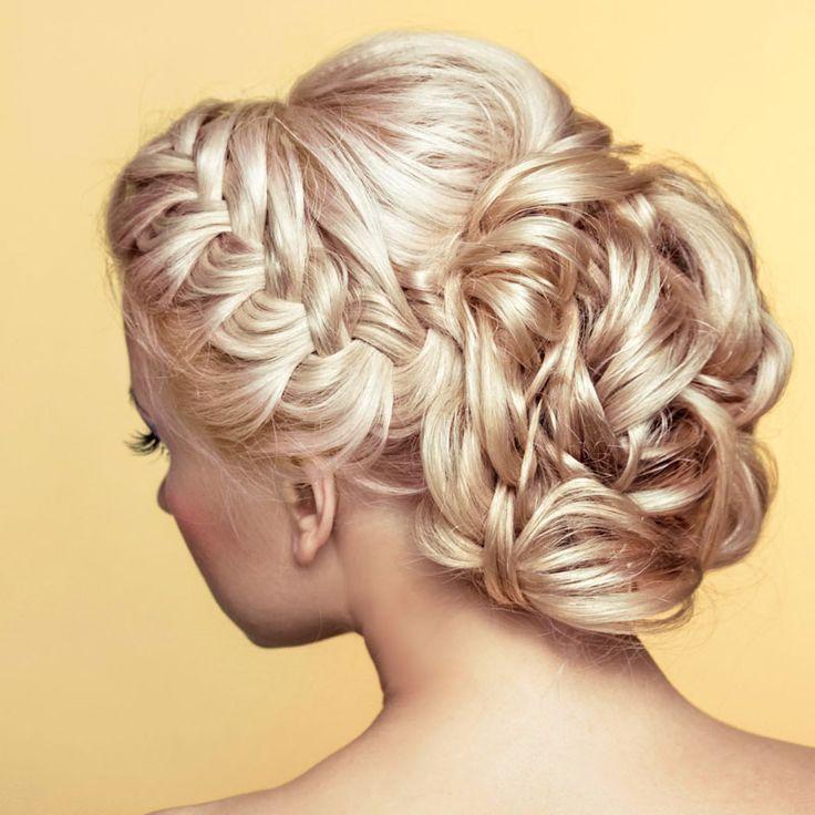 Die besten 25 Brautfrisur geflochten Ideen auf Pinterest