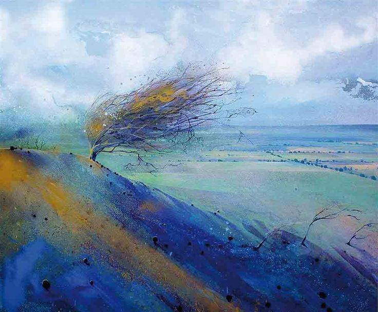 Tu recepcja - Paintings by Lorna Holdcroft (born in Surrey in...