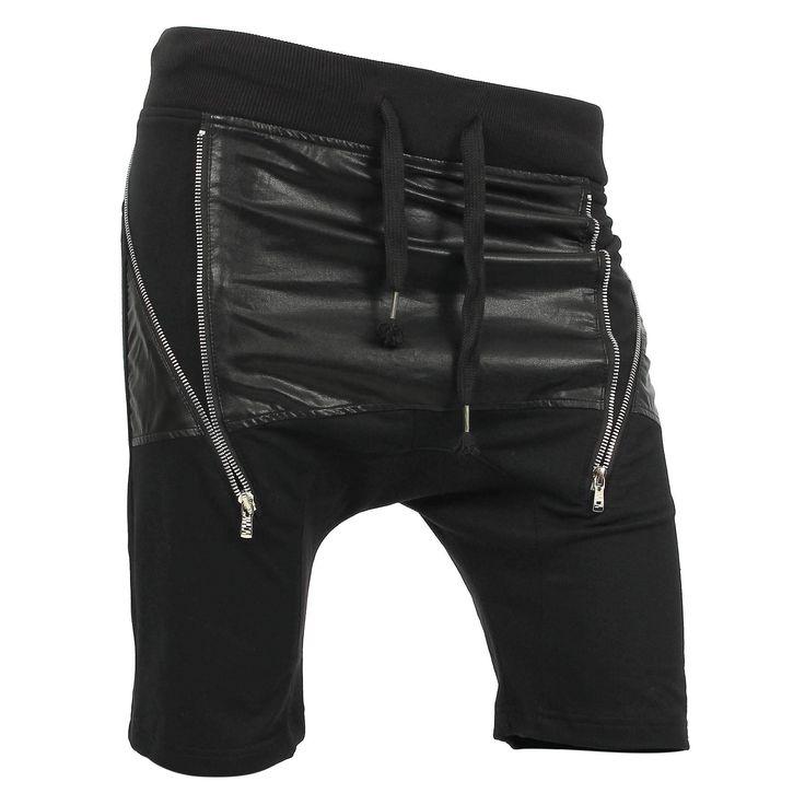 VW Mens Fleece Jogger Shorts (1VWA4005)