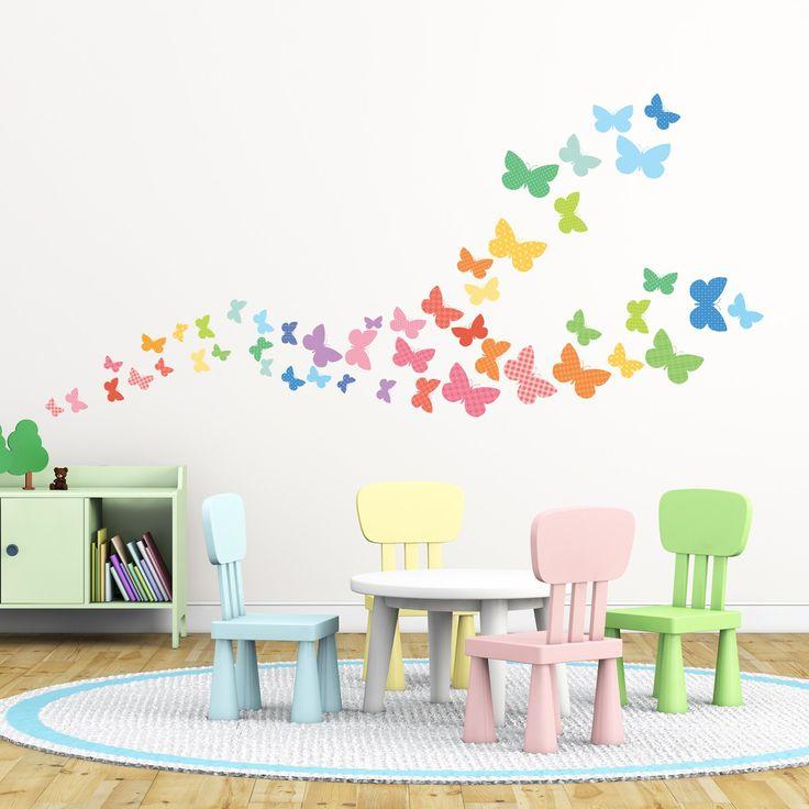 Sweet Butterflies Wall Stickers · Nursery ... Part 16