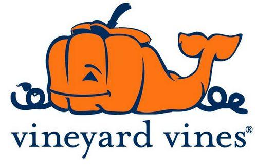 Vineyard Vines Jack-O-Lantern Whale