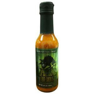 CaJohn's El Chupacabra Hot Sauce is a scorching concoction that combines some of the worlds hottest peppers into one sauce. Often times, a sauce so hot is lacking in flavor, but that does not apply to