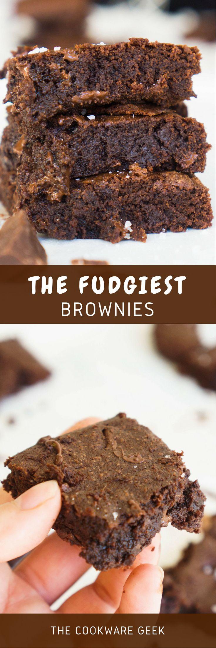 The Fudgiest Brownies Ever (Fudgy Brownies) | The Cookware Geek