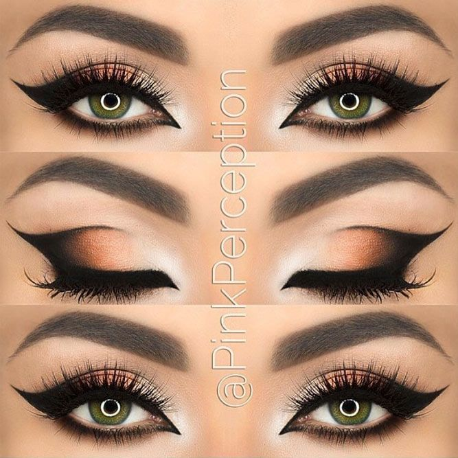 Eyeliner Styles that Will Give an Attractive Touch to Your Eyes ★ See more: http://glaminati.com/eyeliner-styles-attractive-eyes/