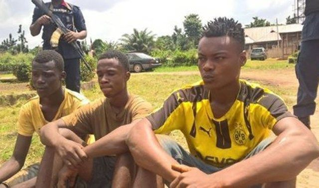 """""""I thought she was an ashawo"""" – 3 guys nabbed for having sex with a 14-year-old girl"""