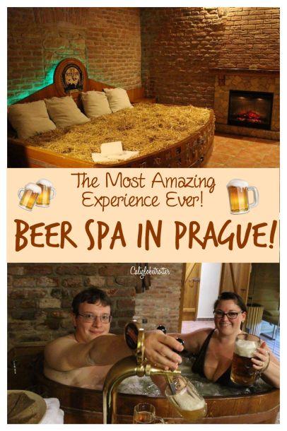 Beer Spa in Prague! Czech Republic - California Globetrotter