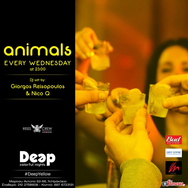 #DeepYellow #WednesdayNights with Guest #DJ Giorgos Reisopoulos