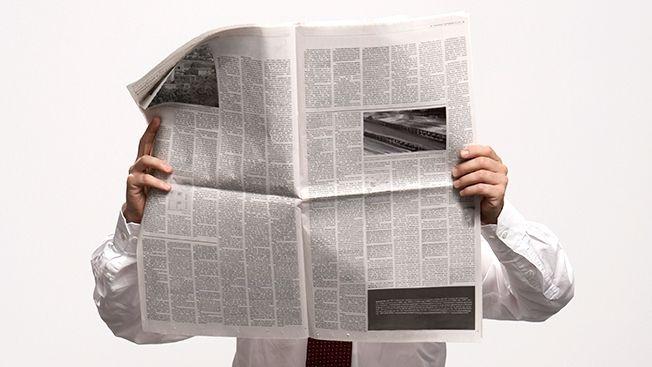 open-newspaper