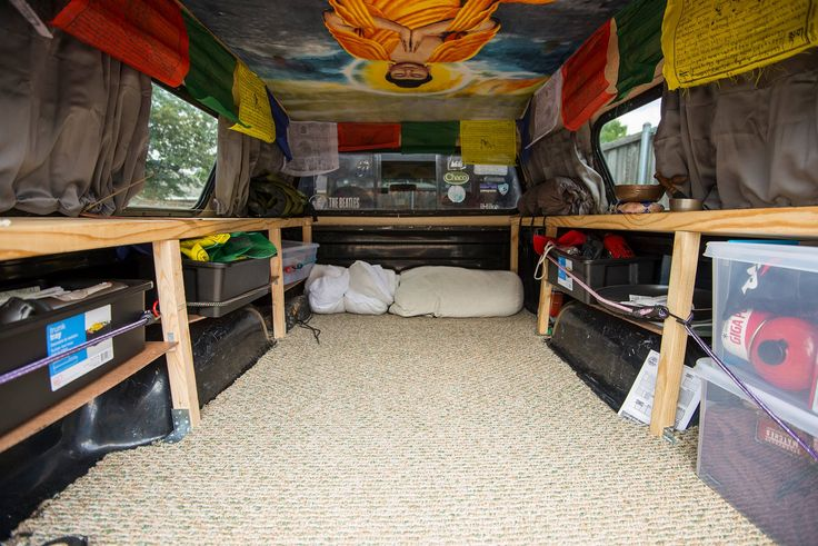 truck camper living - Google Search