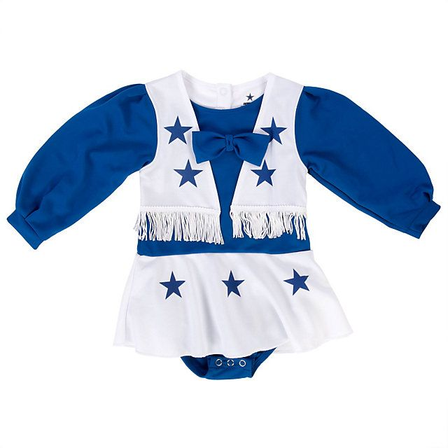 NFL Dallas Cowboys Cheerleader Infant/Toddler Cheer Uniform at shop.dallascowboys.com.