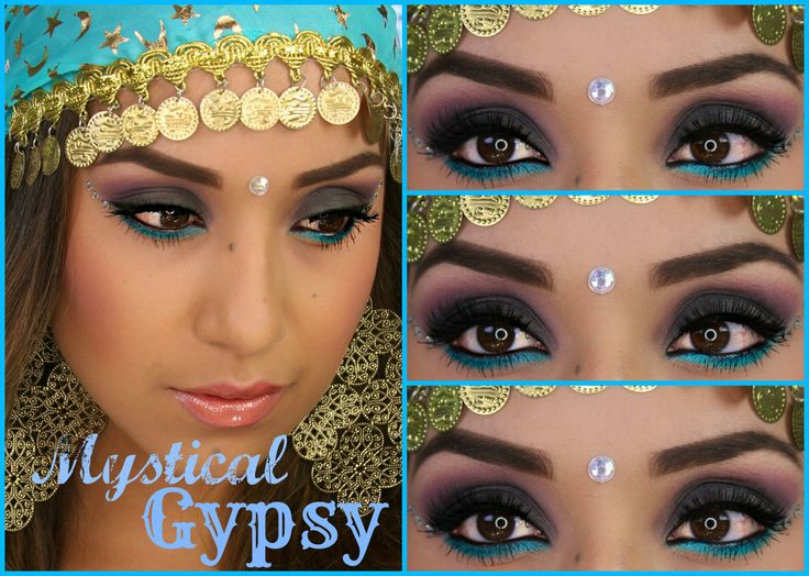 Gypsy makeup... | Special occasions make ups | Pinterest