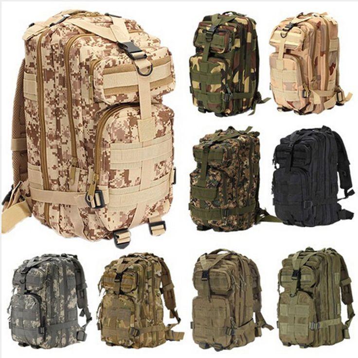 Mehr Rucksäcke-Informationen über Outdoor Sport Camping Trekking Wandern Bag Militärischer Taktischer Rucksack, hochquaitative Rucksäcke  von the sweetie's finden Sie auf Aliexpress.com