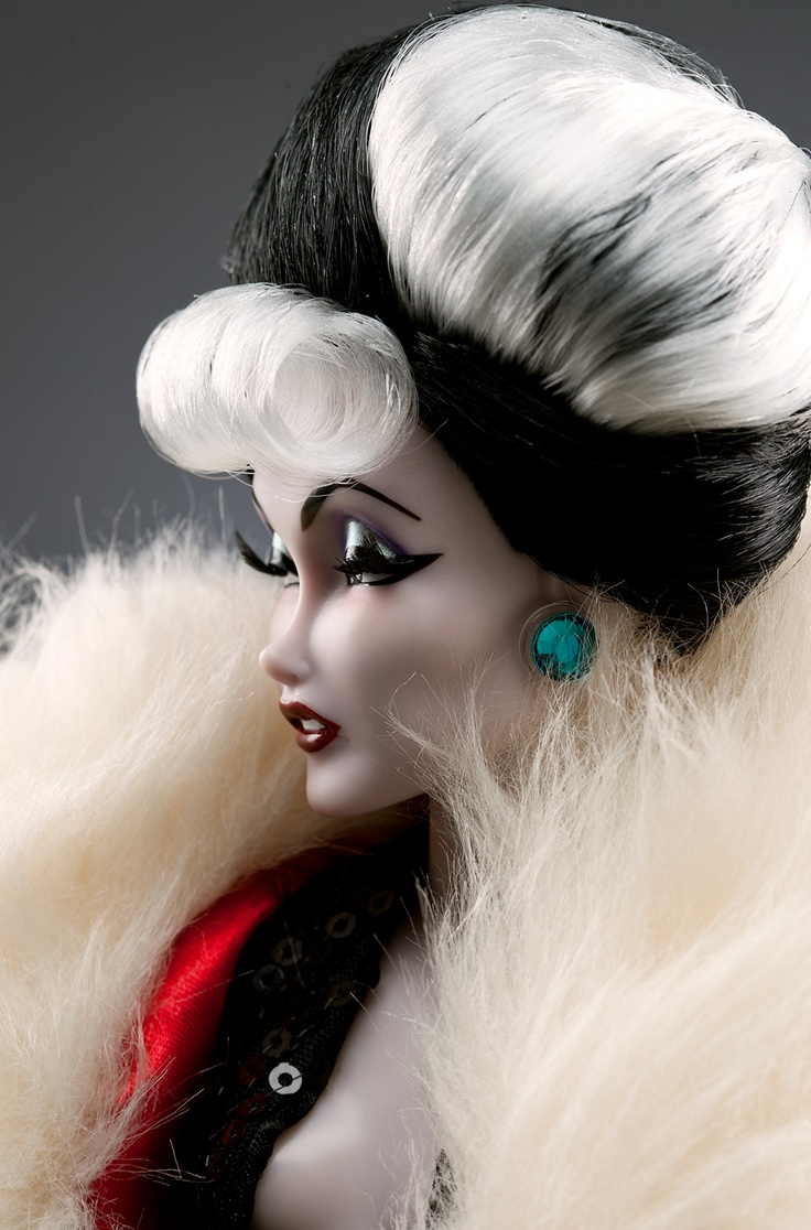 Cruella de Vil Designer Doll - Here's the doll they based Steve's drawing on.