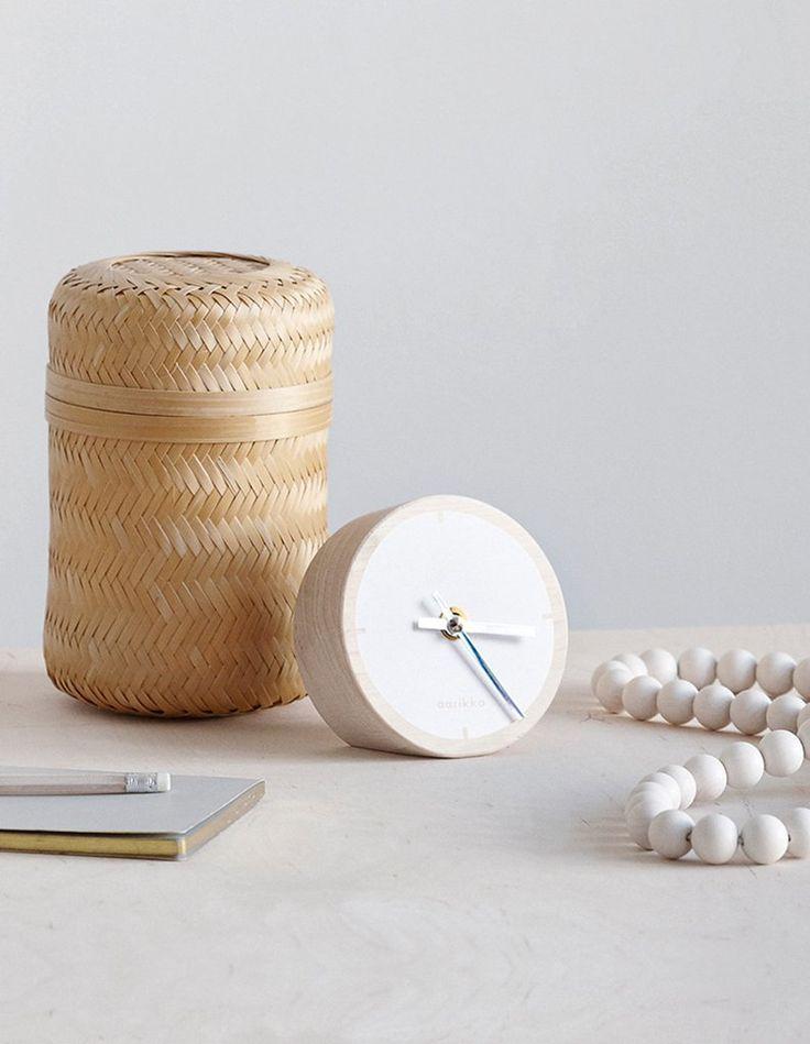 Tovi table watch. Design by Saija Malila. www.aarikka.com