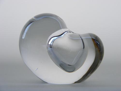 Iittala Timo Sarpaneva glass vase