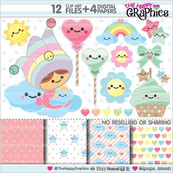Baby Cliparts Baby Grafiken kommerzielle von TheHappyGraphics