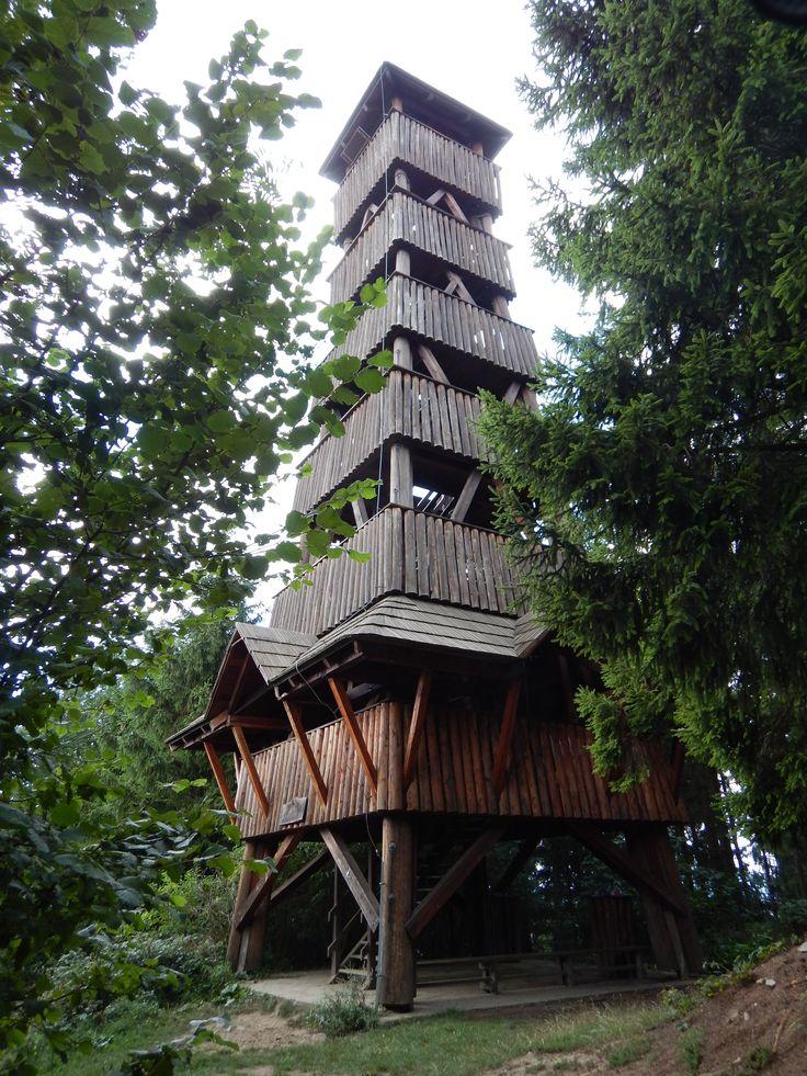 Lookout Tower - Kralovec - Valasske Klobuky - Czech Republic