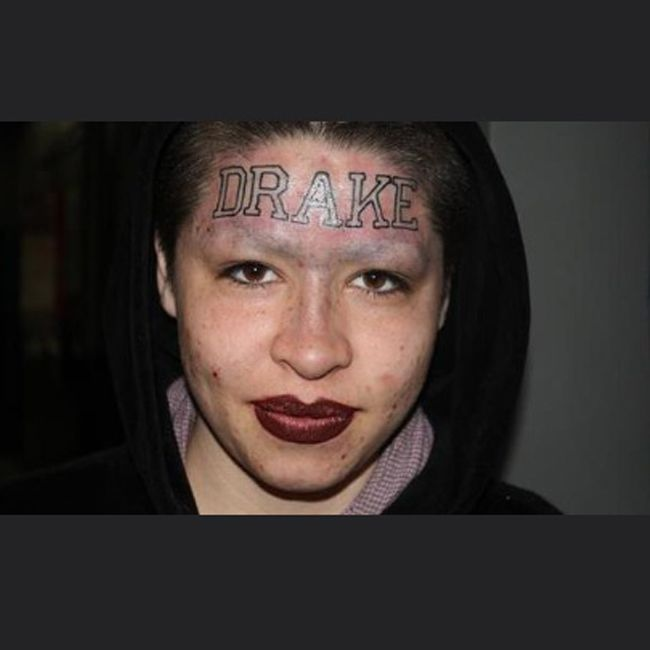 36 best wtf were they thinking images on pinterest for Face tattoos gone wrong