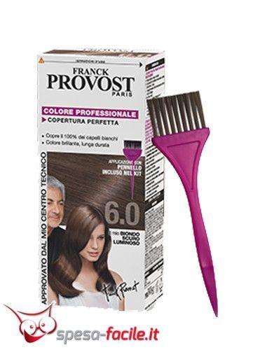 FRANCK PROVOST COLOR BIONDO SCURO LUMINOSO 6.0  6.0 BIONDO SCURO LUMINOSO è particolarmente indicato per i capelli biondo scuri e castano e si rivela la scelta perfetta per la vostra bellezza ...