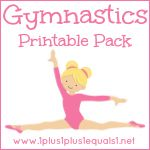 Girls Gymnastics Printables