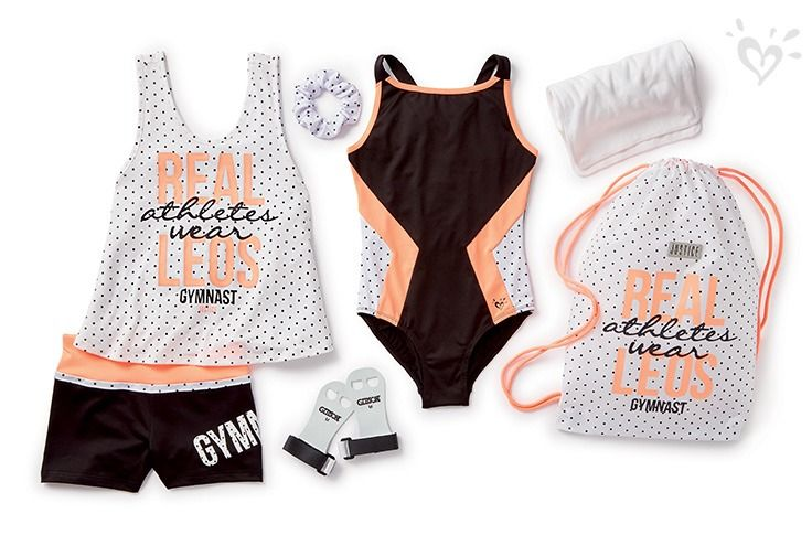Spotted: made-to-match gymnastics wear!