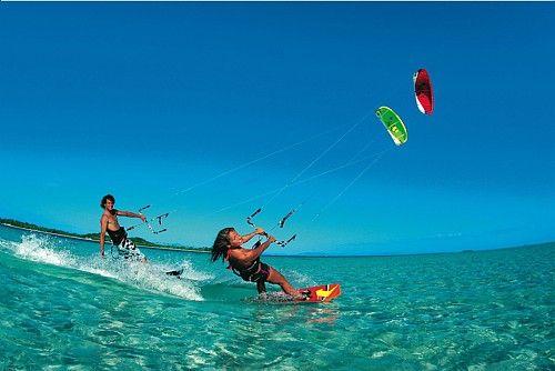 kitesurfing on Diani beach