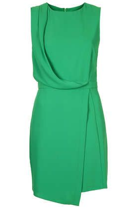 jersey dress with draping detail                                                                                                                                                                                 More
