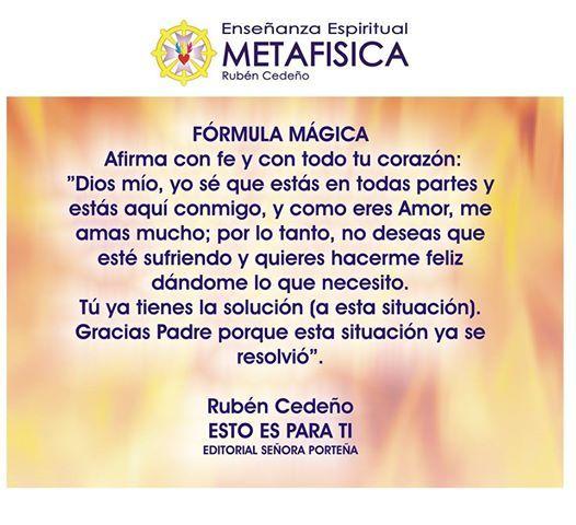 Formula mágica #Metafísica