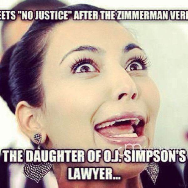 I didn't know her dad was OJ's lawyer! But wow what a double standard...