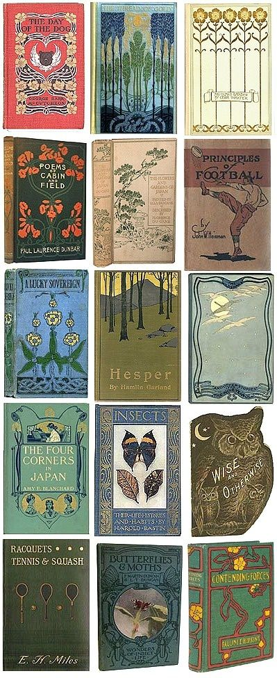 More beautiful vintage book covers
