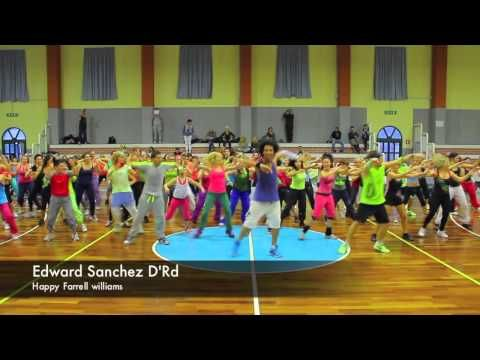 Happy Dance routine, Happy Farrell Williams - (Heel geschikt als Flashmob lijkt me!)
